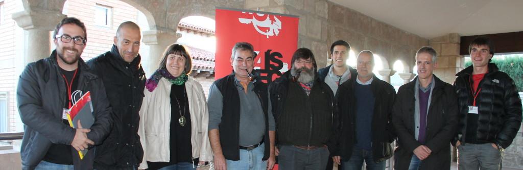 Foto de grup de bona part dels ponents