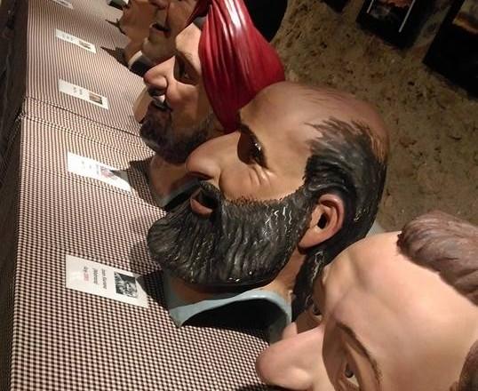 Exposició de capgrossos