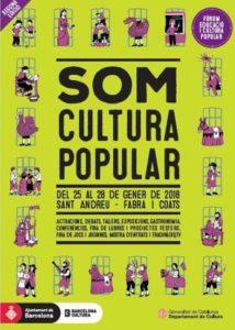 Cartell Som Cultura Popular 2018