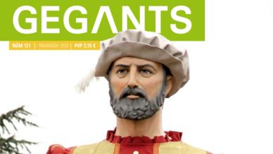 Portada revista Gegants 121