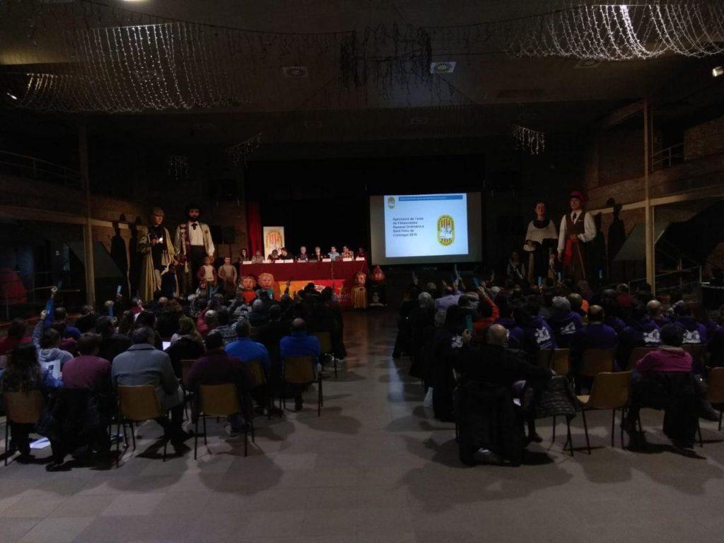 Imatge general de l'assemblea